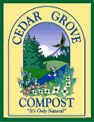 "Cedar Grove Compost.  ""The Good Stuff!"""